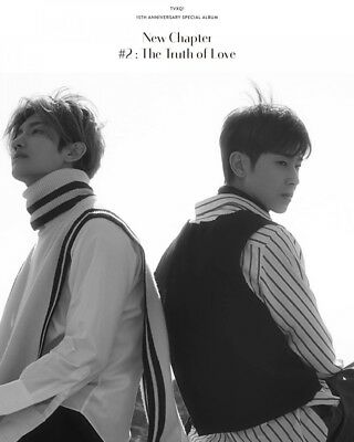 TVXQ [NEW CHAPTER #2:THE TRUTH OF LOVE] Special Album RANDOM CD+POSTER+Book+Card