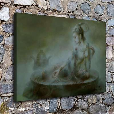 Abstract buddha god HD Canvas Prints Home Room Decor Wall art picture A2387