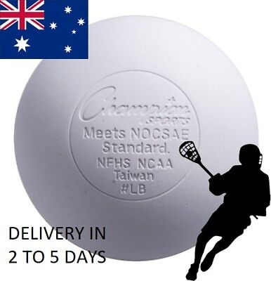 1 Official Lacrosse Balls Team sports size weight white Solid rubber field sport