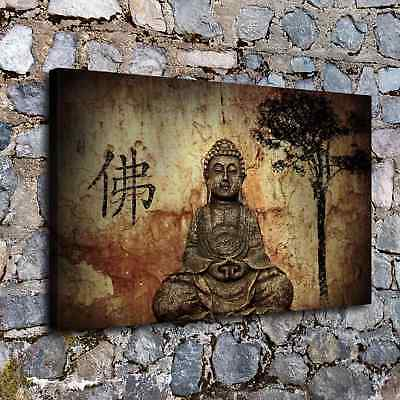 "12""x20"" Abstract buddha god posters HD Canvas Prints Home Room Decor Wall art"