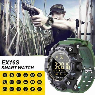 Teens Kids Waterproof Smart Sport Watch Bluetooth Camera Pedometer Wristwatch