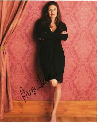 Paige Turco 10x8 inch signed photograph