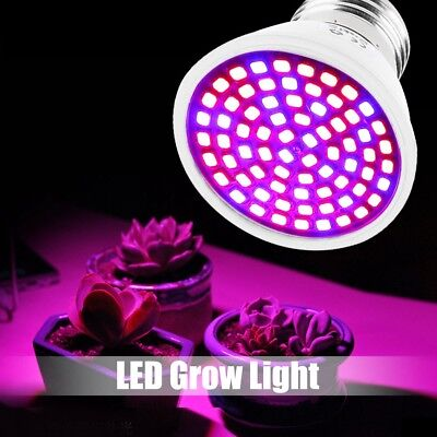 36W LED Grow Light E27 Growing Bulb Lamp for Plant Hydroponic Full Spectrum