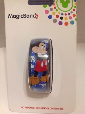 Disney Parks 2018 Mickey Magic Band 2 Limited Release Blue MagicBand 2.0. New