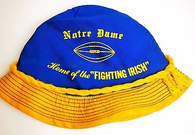 EARLY University of Notre Dame Fighting Irish Bucket Fisherman Sta-Well Hat Cap