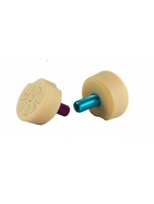 Superball Toe Stops  From gumball ball Roller Derby Skate Toe Stop  roller derby