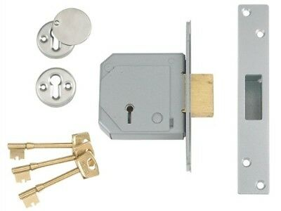 Union C-Series 3K70 Detainer Mortice Sashlock 73mm LEFT HAND Satin Chrome