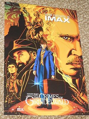 Fantastic Beasts Crimes of Grindelwald IMAX 13x19 Promo Movie POSTER