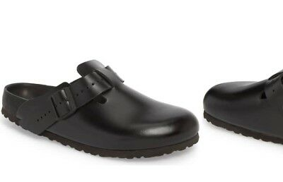 ee33303411ed RICK OWENS X BIRKENSTOCK BOSTON EXQUISITE LEATHER CLOG
