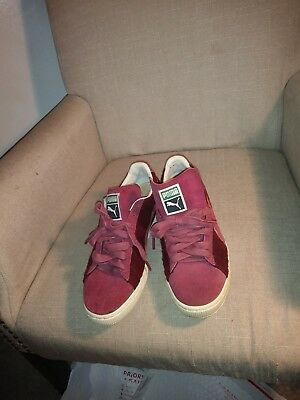 info for 9c93f 44738 PUMA SUEDE CLASSIC Bboy Fabulous Sneakers- Red- Mens