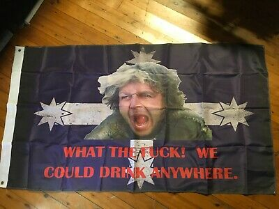 HUGE mad max southern cross flag poster Harley POOL ROOM SIGNS biker mad max