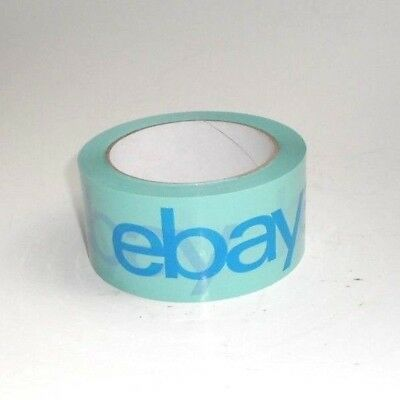 "eBay Branded BOPP TEAL Packaging Tape - Shipping Supplies 75 Yards - 2"" wide"