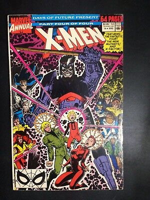 X-men Annual #14 (1990) VG/FN 1st Gambit appearance in extended cameo