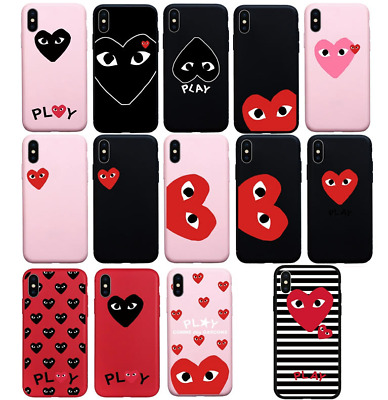 elegant shoes retail prices so cheap LOVE CDG PLAY Heart Comme des Garcons Case Apple Iphone 6 7 ...