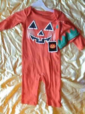 CHILD COSTUME OUTFIT *PUMPKIN* infant 3-6 months NEW WITH PACKAGING