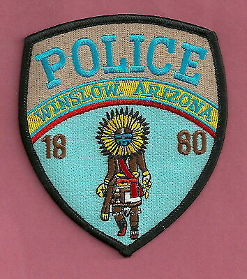 Winslow Arizona Police Patch