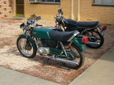 yamaha RD200 X2 1 rd200a 1 rd200d classic vintage 2 stroke working parts restore