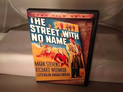The Street With No Name Richard Widmark 1948 Crime Thriller Dvd Pre-owned