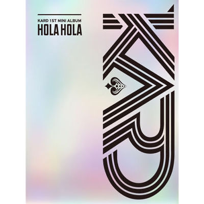 KARD [HOLA HOLA] 1st Mini Album CD+80p Photo Book+2p Photo Card K-POP SEALED