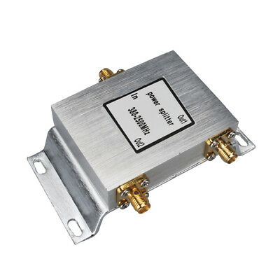 380-2500MHz 2-way Power Divider SMA female jack RF connector ,65.4x90x17mm
