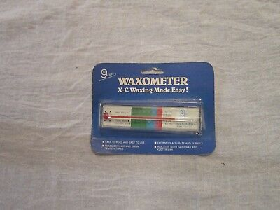 Vintage Gippin Cross Country Ski Wax Glass Thermometer