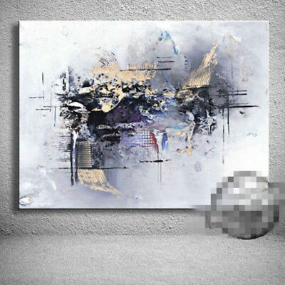 Modern Abstract Art Hand Painted Oil Painting Canvas Living Room Home Decor wall