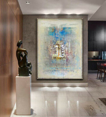 Large Abstract 100% Hand-Painted Oil Painting Home Decor Art Wall On Canvas art