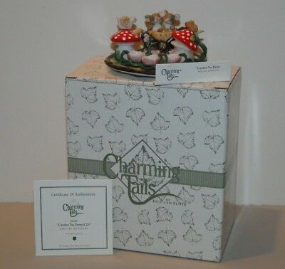 Charming Tails 98/296 Garden Tea Party In Box Fitz & Floyd 742414254999