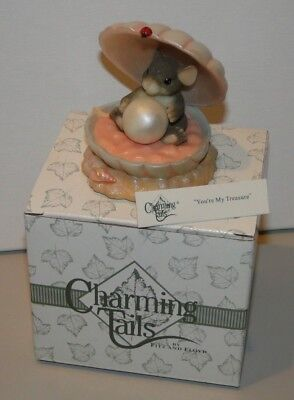 Charming Tails 83/108 Your're My Treasure In Box Fitz & Floyd 742414223506