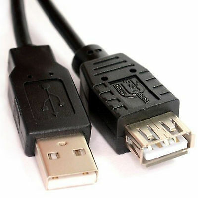 USB 2.0 Extension Male to Female Plug Lead Cable Type A High PC Mouse Lot