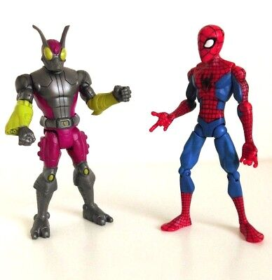 Ultimate Spider-Man Spectacular Spider-Man And Beetle Figure Set