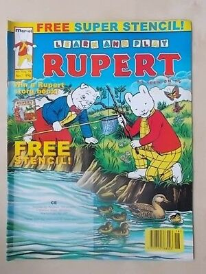 LEARN AND PLAY RUPERT THE BEAR - MARVEL COMIC No 7 - MAY 4th 1994