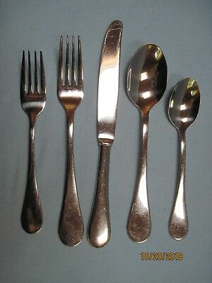 Cambridge Stainless 5-Piece Place Setting