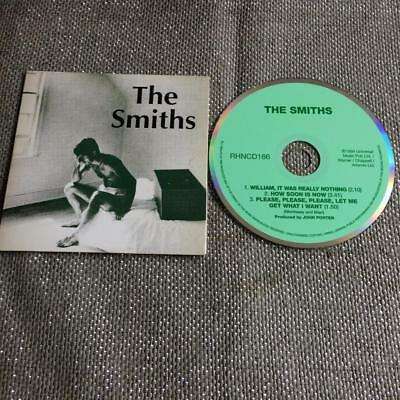 The Smiths CD Single Card Sleeve William It was Really Nothing/ How Soon Is Now?