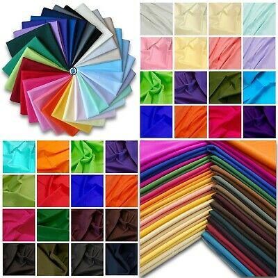 "45"" 100% Cotton Poplin Dyed Fabric Oeko-Tex Certified Craft, Face Masks & Scrubs"