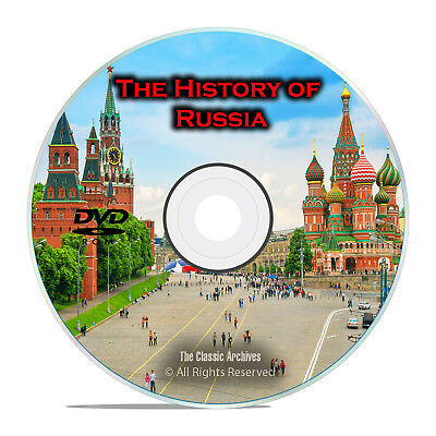 The History of Russia, USSR, Soviet Union, 150 Vintage Books, 1900s, PDF DVD I08