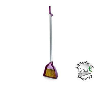 Big Broom and Dustpan with Handle brush bedroom indoor & outdoor use