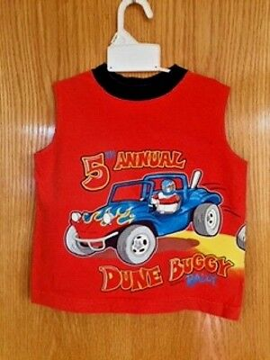 Healthtex Toddler Boys' Dune Buggy Rally Tank Shirt Imported