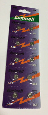 1 - 10pack New AG4 377A 377 LR626 SR626SW SR66 G4 376 Card 1.5V Alkaline Battery