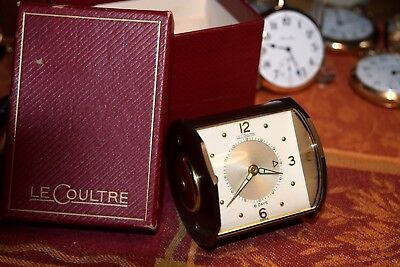 Mint, Le Coultre  Alarm Clock, All Original paperwork and Box.......