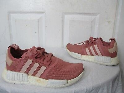 f8eb05444 Adidas Nmd R1 Runner W Nomad Wmns Peach Pink Salmon Boost S76006 Us 7 Uk 5½