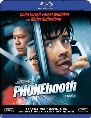 PHONEBOOTH - BLU-RAY Movie - Brand New & Sealed- Fast Ship- (HMV-265/HMV-48)