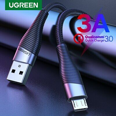 Ugreen Fast Charger Micro USB Cable Strong Braided for Samsung S7 S6 Huawei HTC