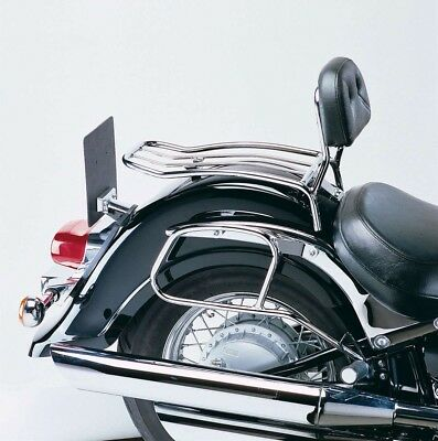 Kawasaki VN 1600 Classic Solorack with backrest BY HEPCO AND BECKER