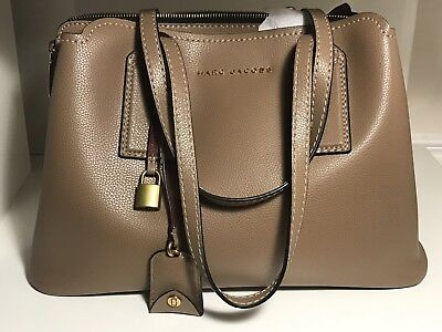 e283d93029f0 MARC JACOBS EDITOR French Grey Leather Tote -  325.00