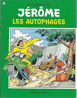BD  Jérôme- Les autophages  - N°53 - Re- 1977 -TBE -Vandersteen