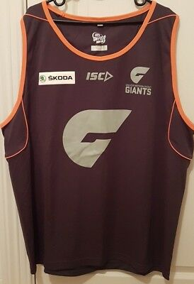 Greater Western Sydney Giants ISC Training Singlet 2XL