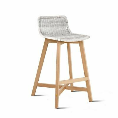 Artiss Set of 2 Reva Bar Stool - White
