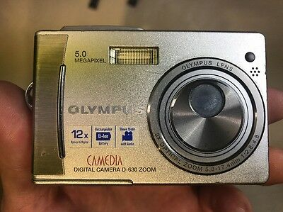 Rare Olympus Camedia D-630 Digital Camera - Tested XD Card Type Camera ONLY