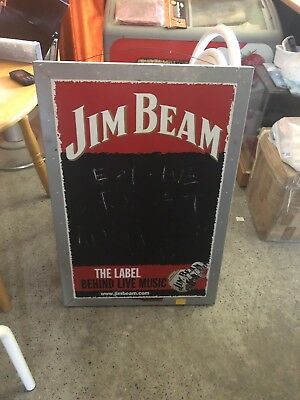 Jim Beam Sign ( chalk board )